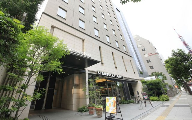 Richmond Hotel Tokyo Shiba in Tokyo, Japan from 159$, photos, reviews - zenhotels.com hotel front