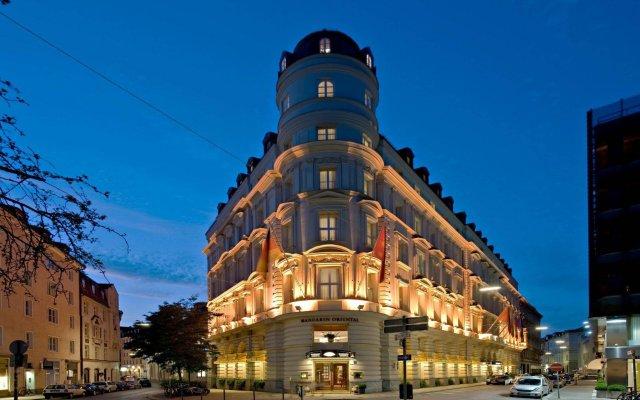 Отель Mandarin Oriental, Munich Германия, Мюнхен - 7 отзывов об отеле, цены и фото номеров - забронировать отель Mandarin Oriental, Munich онлайн вид на фасад