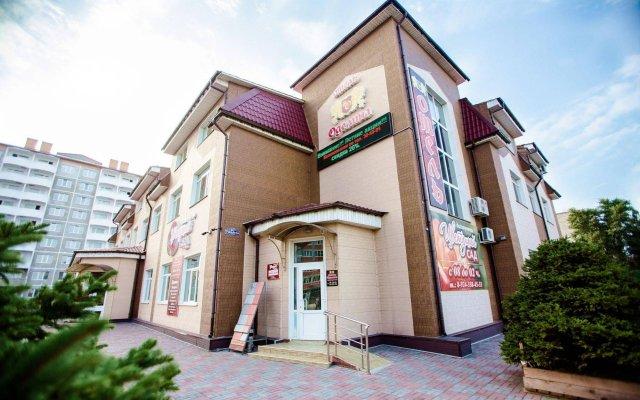 Гостиница Оделина Отель в Уссурийске 3 отзыва об отеле, цены и фото номеров - забронировать гостиницу Оделина Отель онлайн Уссурийск вид на фасад