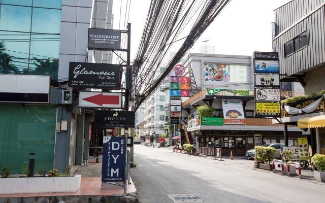 Snooze Hotel Thonglor Bangkok Бангкок вид на фасад