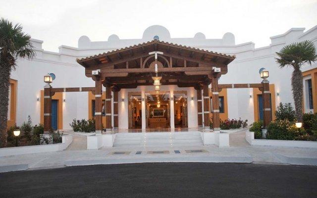 Отель Aegean Village Hotel Греция, Мастичари - отзывы, цены и фото номеров - забронировать отель Aegean Village Hotel онлайн вид на фасад
