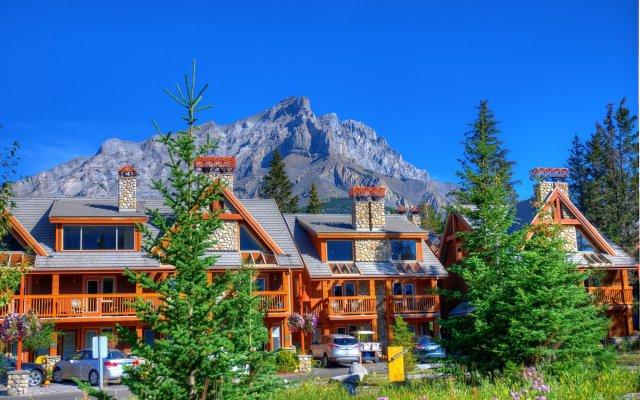 Отель Hidden Ridge Resort вид на фасад