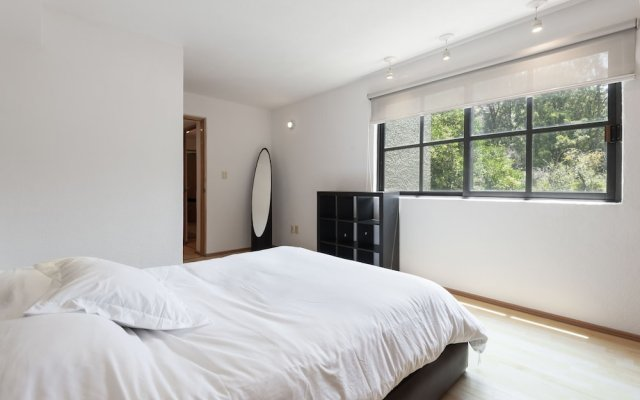 Апартаменты Beautiful apartment Ahuehuetes Мехико комната для гостей