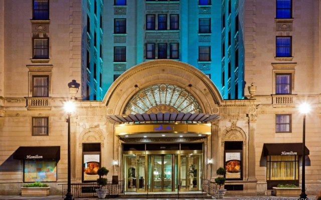 Отель Hamilton Hotel Washington DC США, Вашингтон - отзывы, цены и фото номеров - забронировать отель Hamilton Hotel Washington DC онлайн вид на фасад