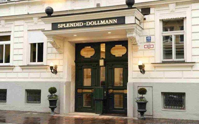 Отель SPLENDID-DOLLMANN Мюнхен вид на фасад