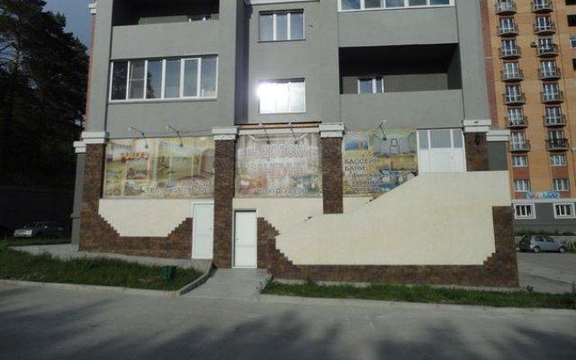 Гостиница Ельцовский в Новосибирске отзывы, цены и фото номеров - забронировать гостиницу Ельцовский онлайн Новосибирск вид на фасад