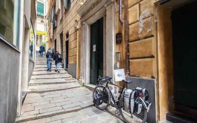 Ostellin Genova Hostel Генуя вид на фасад