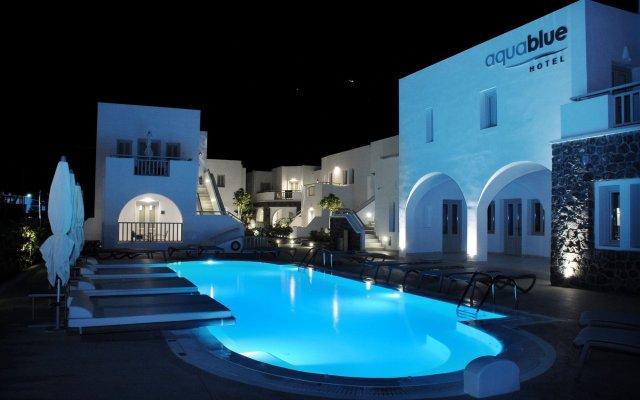 Aqua Blue Hotel вид на фасад