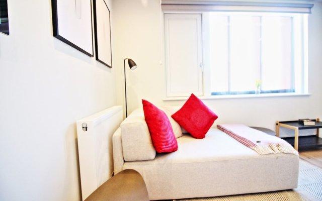 Отель Rooftop Penthouse Manchester комната для гостей