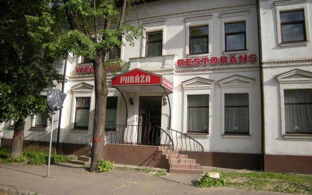 Отель Mirāža Рига вид на фасад