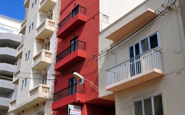 Отель Sogdiana вид на фасад