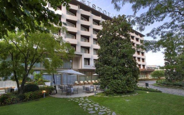 Отель Terme Bristol Buja Италия, Абано-Терме - 2 отзыва об отеле, цены и фото номеров - забронировать отель Terme Bristol Buja онлайн вид на фасад