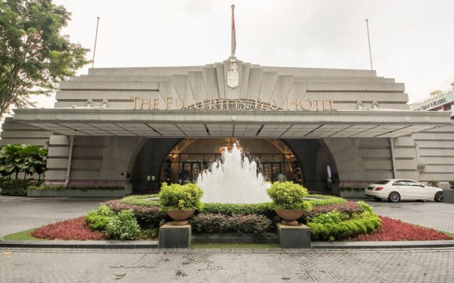 The Fullerton Bay Hotel Singapore вид на фасад