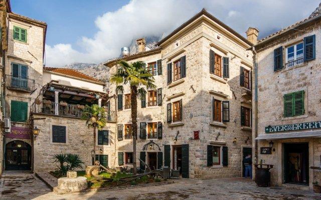 Отель Monte Cristo Черногория, Котор - отзывы, цены и фото номеров - забронировать отель Monte Cristo онлайн вид на фасад