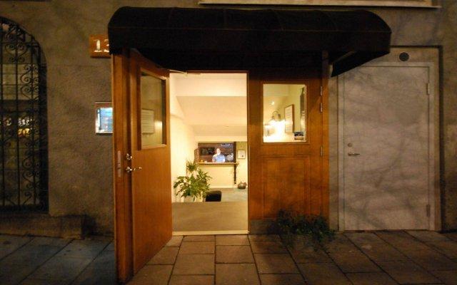Skanstulls Hostel вид на фасад