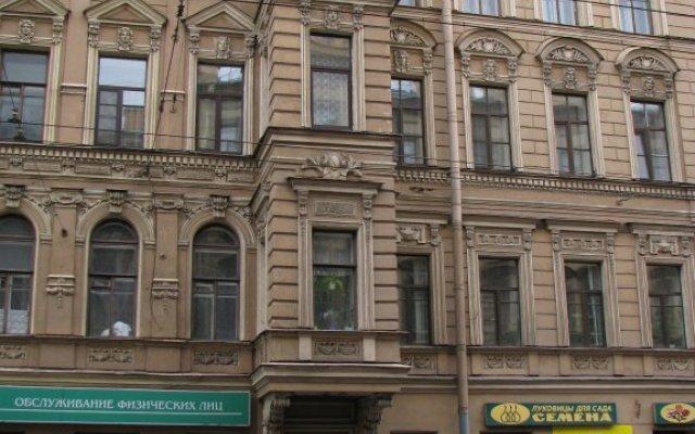 Гостиница Атмосфера на Большом Санкт-Петербург вид на фасад