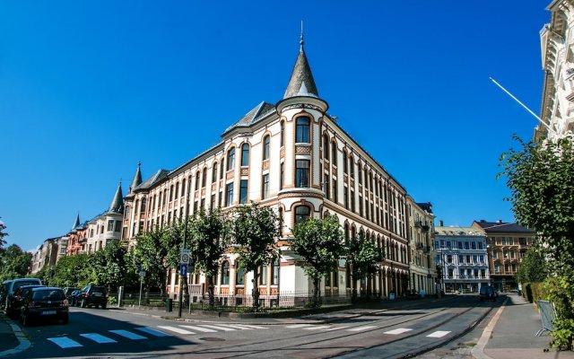 Апартаменты Frogner House Apartments - Riddervoldsgate 10 вид на фасад