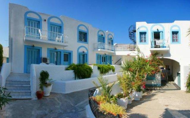 Отель Katerina Apartments Греция, Калимнос - отзывы, цены и фото номеров - забронировать отель Katerina Apartments онлайн вид на фасад