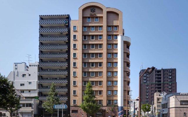 Отель Eclair Hakata Япония, Фукуока - отзывы, цены и фото номеров - забронировать отель Eclair Hakata онлайн вид на фасад