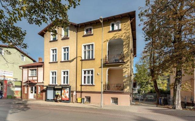 Апартаменты Dom&house - Apartments Quattro Premium Sopot Сопот вид на фасад