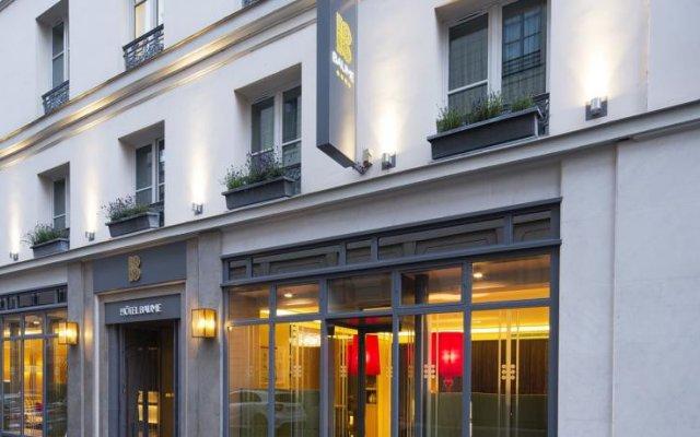 Hotel Jardin De L'odeon Париж вид на фасад