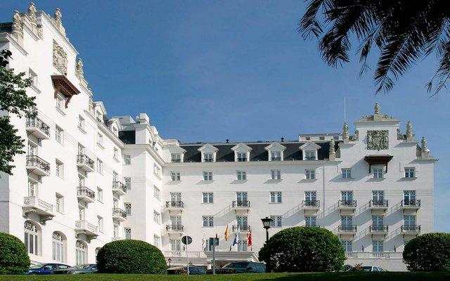 Отель Eurostars Hotel Real Испания, Сантандер - отзывы, цены и фото номеров - забронировать отель Eurostars Hotel Real онлайн вид на фасад