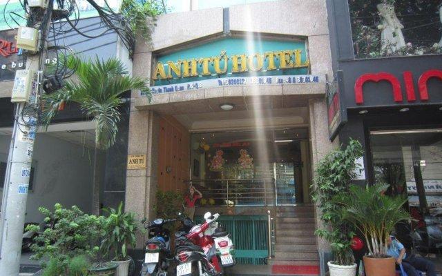 Отель Anh Tu Hotel Вьетнам, Хошимин - отзывы, цены и фото номеров - забронировать отель Anh Tu Hotel онлайн вид на фасад