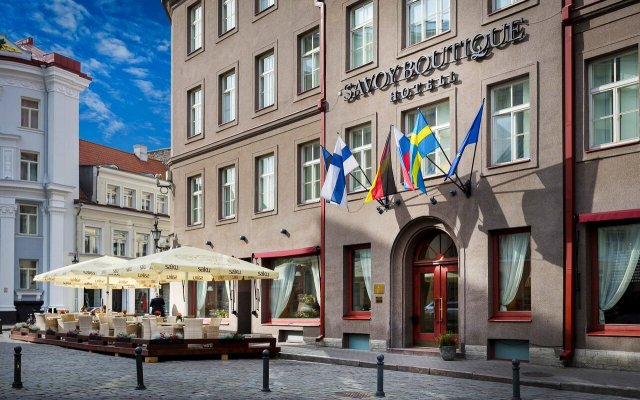 Savoy Boutique Hotel by TallinnHotels вид на фасад