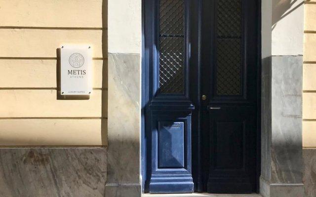 Отель Metis Athens Suites Афины вид на фасад