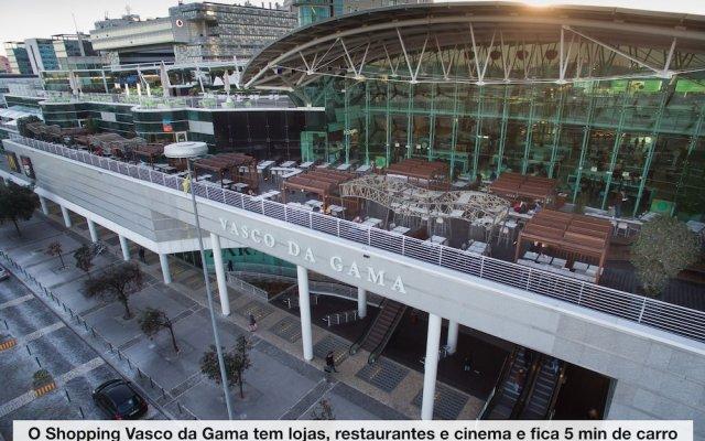 Отель Expo Marina Lis Португалия, Лиссабон - отзывы, цены и фото номеров - забронировать отель Expo Marina Lis онлайн вид на фасад