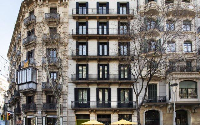 Апартаменты Cosmo Apartments Passeig de Gràcia Барселона вид на фасад