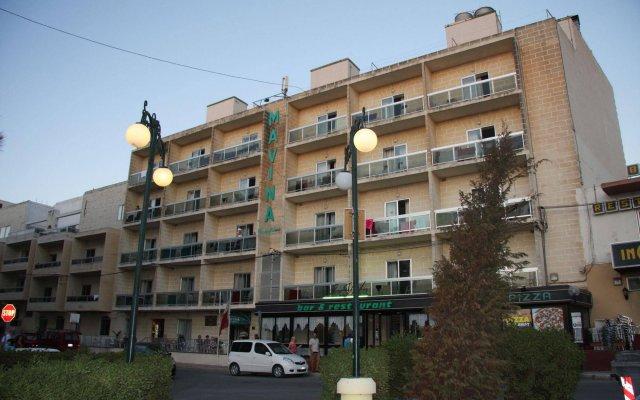 Отель Mavina Hotel and Apartments Мальта, Каура - 5 отзывов об отеле, цены и фото номеров - забронировать отель Mavina Hotel and Apartments онлайн вид на фасад