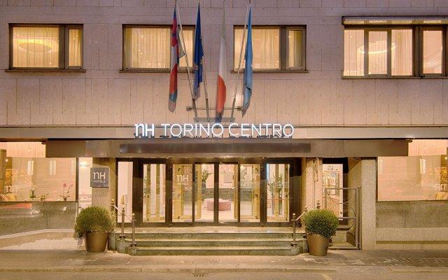 Отель NH Torino Centro вид на фасад