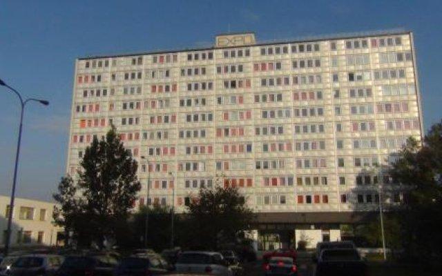 Отель Residence Expo Прага вид на фасад