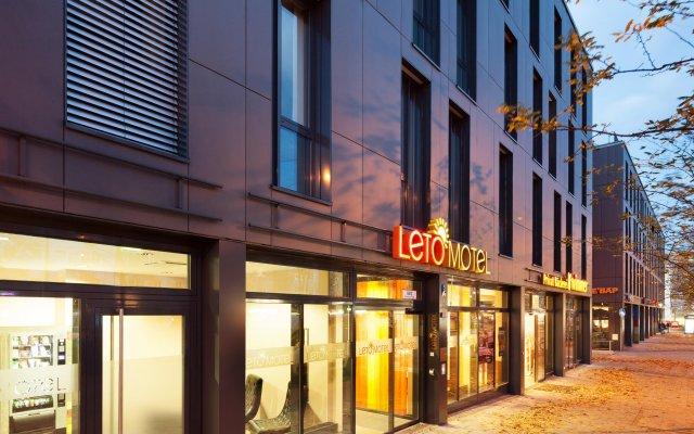 Отель Leto Motel Мюнхен вид на фасад