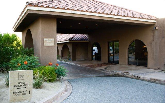 Отель Borrego Springs Resort and Spa вид на фасад