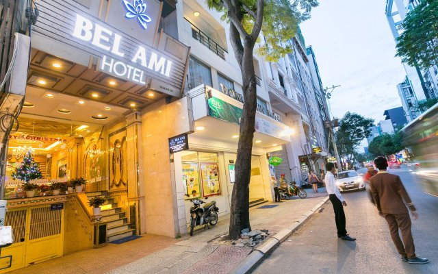 Bel Ami Hotel вид на фасад