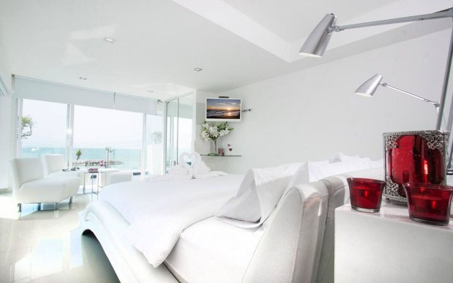 Отель Villa 7th Heaven Beach Front комната для гостей