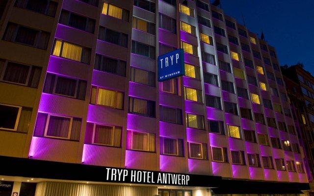 Отель TRYP by Wyndham Antwerp вид на фасад