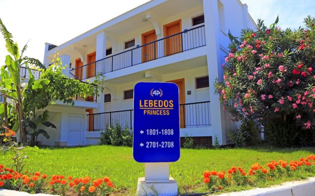 Отель Labranda Lebedos Princess - All Inclusive вид на фасад
