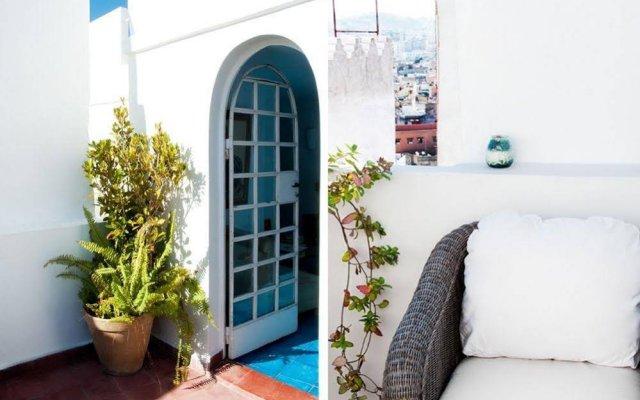 Отель Dar Nour Марокко, Танжер - отзывы, цены и фото номеров - забронировать отель Dar Nour онлайн вид на фасад