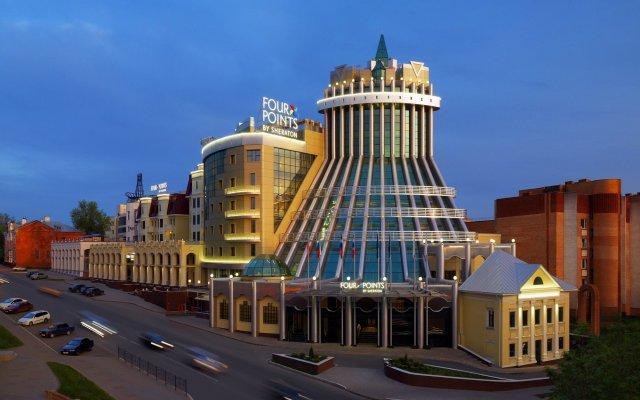 Гостиница Four Points by Sheraton Kaluga в Калуге - забронировать гостиницу Four Points by Sheraton Kaluga, цены и фото номеров Калуга вид на фасад