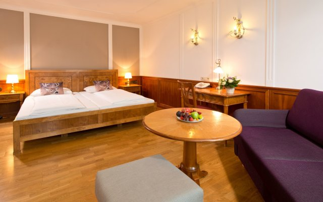 Отель Achat Plaza Zum Hirschen Зальцбург комната для гостей