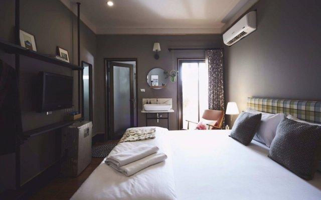 Josh Hotel Бангкок комната для гостей
