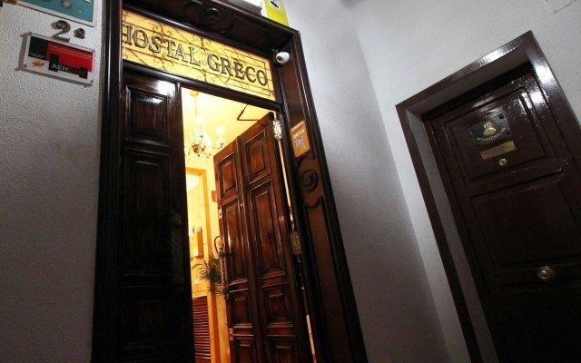 Отель Hostal Greco Madrid вид на фасад
