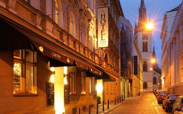Отель Antik City Hotel Чехия, Прага - 10 отзывов об отеле, цены и фото номеров - забронировать отель Antik City Hotel онлайн вид на фасад