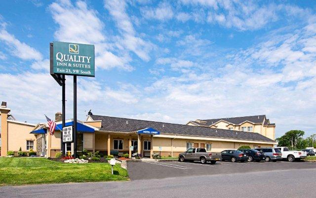 Отель Quality Inn & Suites Glenmont - Albany South вид на фасад