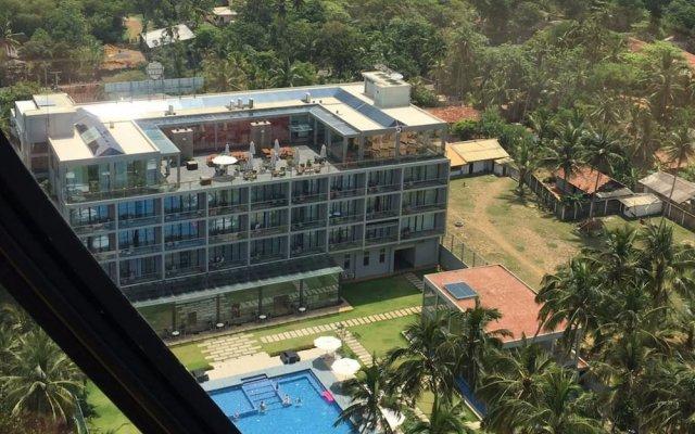 Отель Club Waskaduwa Beach Resort & Spa вид на фасад