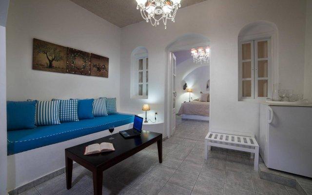 Отель Andromeda Villas Греция, Остров Санторини - 1 отзыв об отеле, цены и фото номеров - забронировать отель Andromeda Villas онлайн комната для гостей