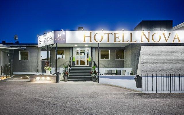 Отель Hotell Nova Швеция, Карлстад - отзывы, цены и фото номеров - забронировать отель Hotell Nova онлайн вид на фасад